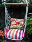 Cristina Stripe Hammock Chairs