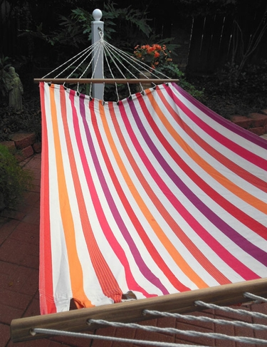 Cristina Stripe Sundure Fabric Hammock - Click to enlarge
