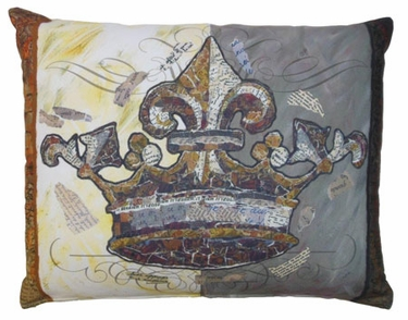 Crown Outdoor Pillow - Click to enlarge