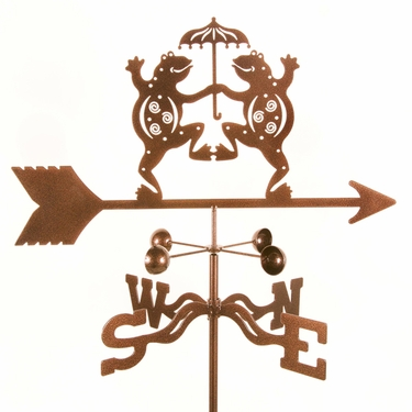 Dancing Frogs Weathervane - Click to enlarge