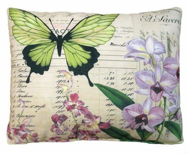 Dauphine Butterfly 2 Outdoor Pillow - Click to enlarge