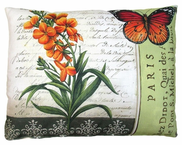 Dauphine Butterfly 4 Outdoor Pillow - Click to enlarge