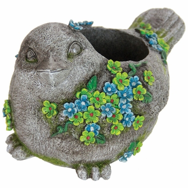 Flower Bird Planter - Click to enlarge