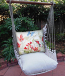 Delicate Butterflies Hammock Chair Swing Set