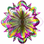 Designer Cosmic Splash Wind Spinner