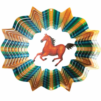 Designer Horse Wind Spinner - Click to enlarge