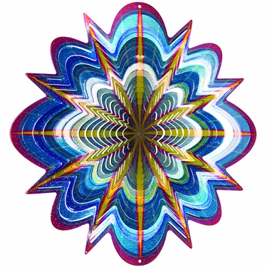 Designer Hyper Splash Wind Spinner - Click to enlarge