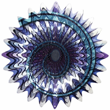 Designer Lunar Splash Wind Spinner - Click to enlarge