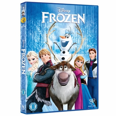 Disney's Frozen DVD Movie - Click to enlarge