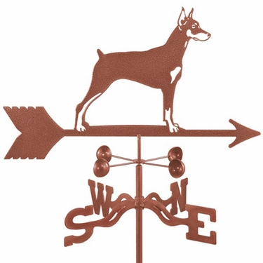Doberman Dog Weathervane - Click to enlarge