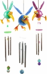 Dodo Bird Wind Chimes (Set of 2)