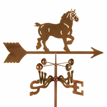 Draft Horse Weathervane - Click to enlarge