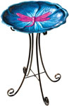 Dragonfly Bird Bath w/Stand