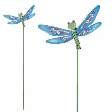 Dragonfly Garden Stakes Set of 6 only 2499 at Garden Fun