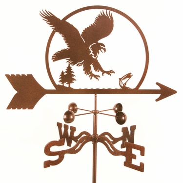 Eagle Weathervane - Click to enlarge