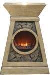 Earth, Air, Fire & Water Elements LED Fountain