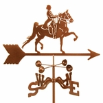 English Rider Weathervane