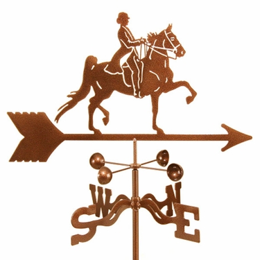 English Rider Weathervane - Click to enlarge