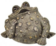 Extra Large Dreamer Toad - Dark Natural - Click to enlarge