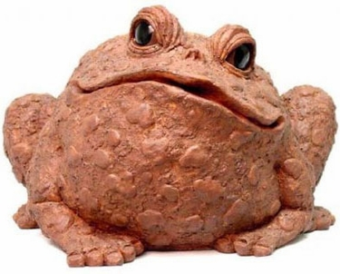 Extra Large Toad - Coffee - Click to enlarge
