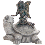 Fairy on Turtle Statue