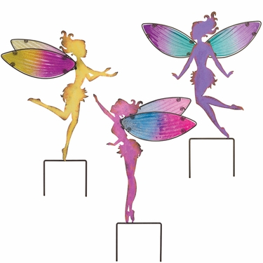 Large Fairy Garden Stakes (Set of 3) - Click to enlarge