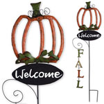 Fall Pumpkin Stake