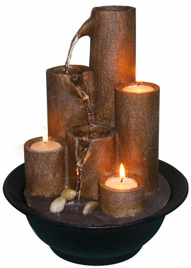 Fire & Water Candle Fountain - Click to enlarge