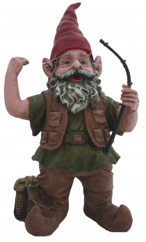 Fishing Lawn Gnome - Click to enlarge