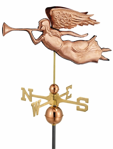 Flying Angel Weathervane - Click to enlarge