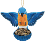 Flying Bird Feeder - Bluebird