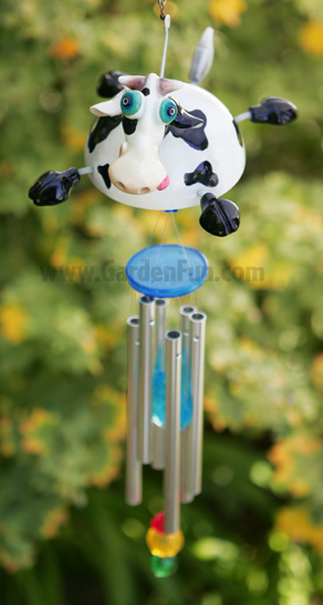 Flying Cow Wind Chime - Click to enlarge