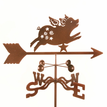 Flying Pig Weathervane - Click to enlarge