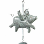 Flying Pig Wind Chime