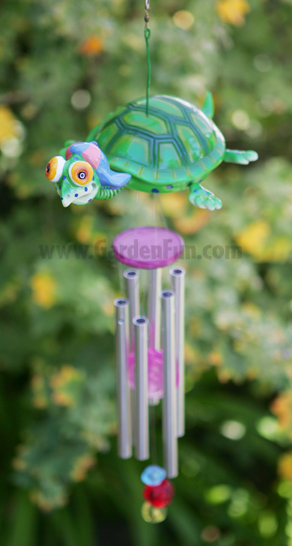 Flying Turtle Wind Chime - Click to enlarge