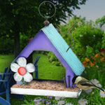 Folk House Bird Feeder