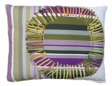 Folsom Big Circle Outdoor Pillow - Click to enlarge