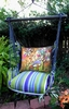 Folsom Impressions Mushroom Hammock Chair Swing Set