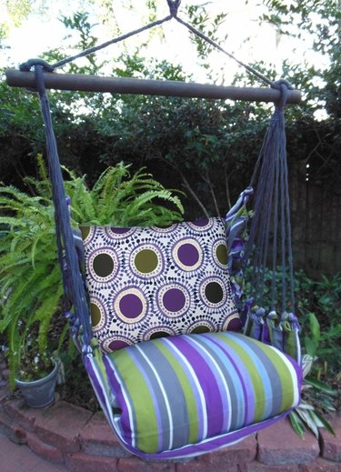 Folsom Little Circles Hammock Chair Swing Set - Click to enlarge