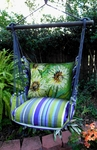 Folsom Spring Flowers Hammock Chair Swing Set