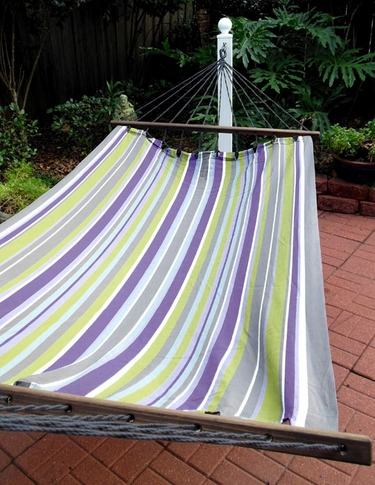Folsom Stripe Sundure Fabric Hammock - Click to enlarge