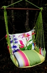 Fresh Lime Spring Fling 2 Hammock Chair Swing Set