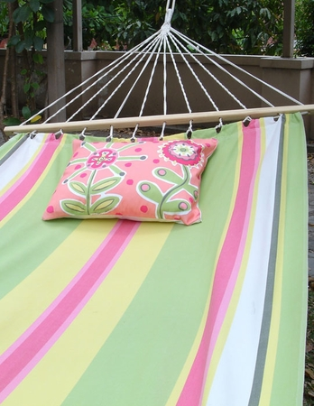Fresh Lime Sundure Fabric Hammock - Click to enlarge