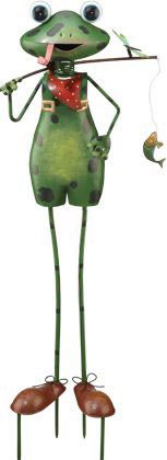 Frog Dad Garden Decor - Click to enlarge