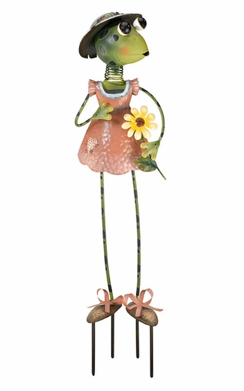 Frog Lady Garden Decor - Click to enlarge