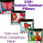 All Waterproof Patio Pillows & Outdoor Pillows