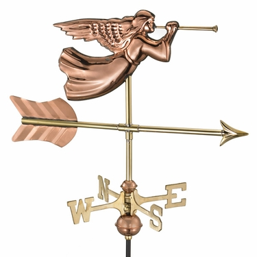 Garden Angel Weathervane - Click to enlarge