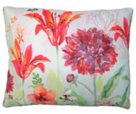 Garden Aviary Bumblebee Outdoor Pillow