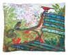 Garden Bench Outdoor Pillow