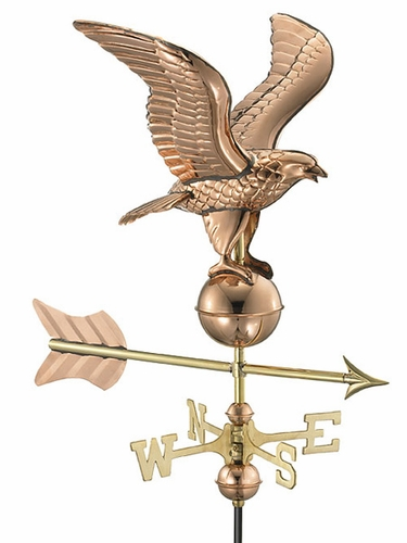 Garden Eagle Weathervane - Click to enlarge